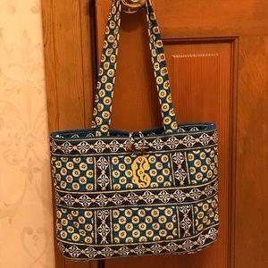 Vera Bradley Small Shoulder Bag - Riviera Blue